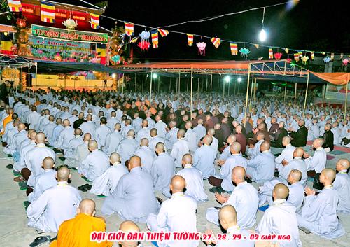 Phật giáo Sóc Trăng tổ chức Đại Giới đàn Phi Lai - Chí Thiền 2017