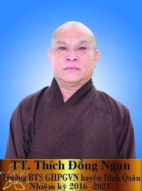 TT Thích Đồng Ngạn - trưởng BTS GHPG huyện Định Quán