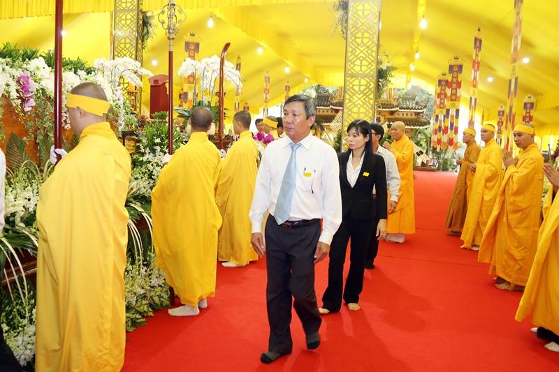 Các phái đoàn viếng tang lễ HT. Thích Quang Đạo ngày 18/7