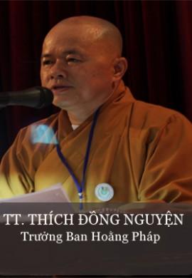 TT. Thích Đồng Nguyện - trưởng Ban hoằng pháp Phật giáo tỉnh Quảng Nam