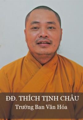 ĐĐ. Thích Tịnh Châu - trưởng Ban văn hóa tỉnh Quảng Nam