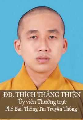 ĐĐ. Thích Thắng Thiện - Ủy viên thường trực, phó Ban thông tin truyền thông tỉnh Quảng Nam