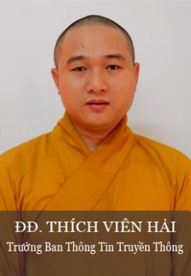 ĐĐ. Thích Viên Hải - trưởng Ban thông tin truyền thông tỉnh Quảng Nam