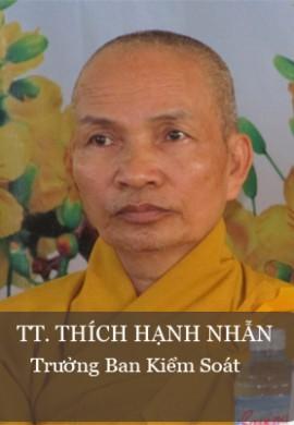 TT. Thích Hạnh Nhẫn - Trưởng Ban kiểm soát PG tỉnh Quảng Nam