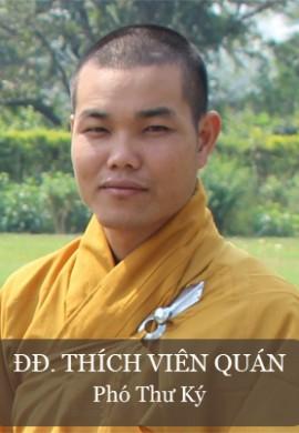 ĐĐ. Thích Viên Quán, phó thư ký BTS GHPG tỉnh Quảng Nam