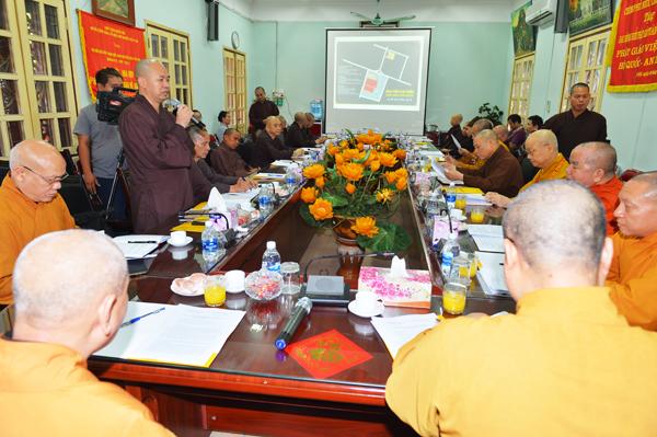 Họp triển khai công tác tổ chức Đại hội Phật giáo toàn quốc lần thứ VIII nhiệm kỳ 2017 – 2022