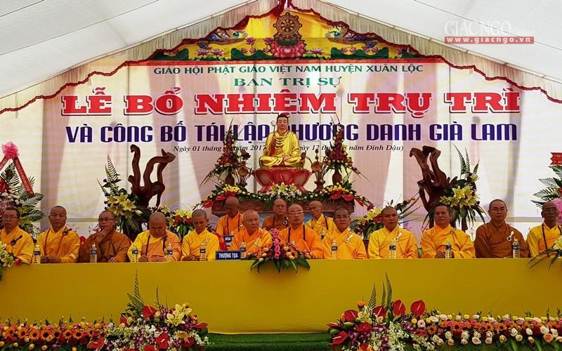 Bổ nhiệm trụ trì niệm Phật đường Tân Hữu cho ĐĐ Thích Đồng Đạt
