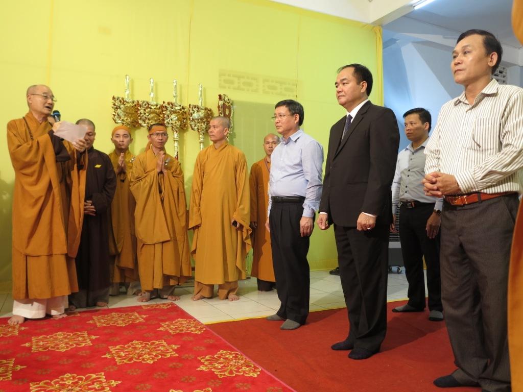 Phái đoàn Chủ tịch nước Việt Nam viếng tang HT Thích Trí Tâm