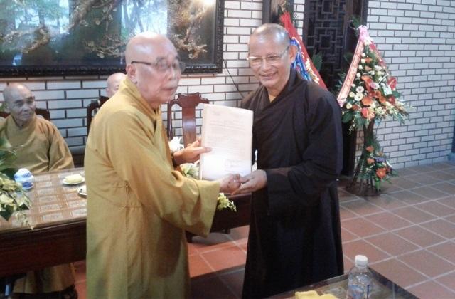 Quảng Trị: Công bố Quyết định và ra mắt Ban Tăng sự GHPGVN tỉnh