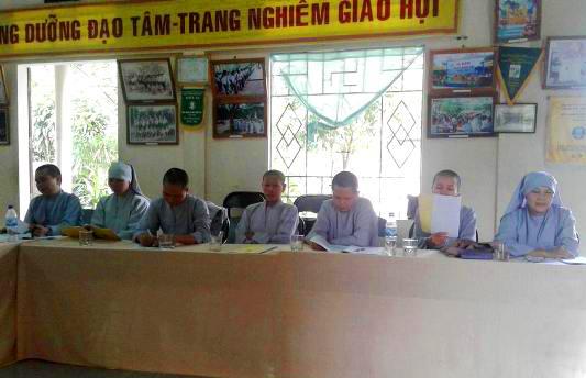 Ban Trị Phật giáo huyện Hải Lăng tổng kết Phật sự 9 tháng đầu năm 2017