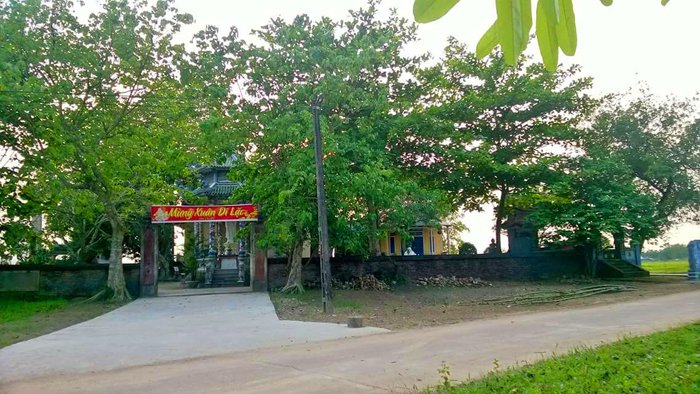 Chùa Quy Thiện tọa lạc tại Làng Quy Thiện xã Hải Quy huyện Hải Lăng tỉnh Quảng Trị