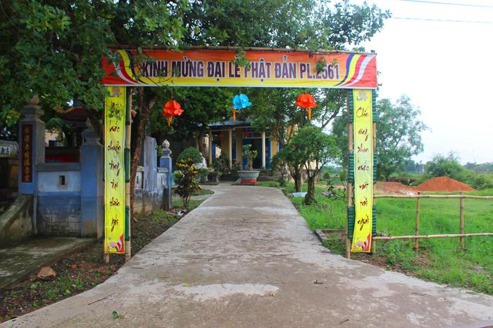 Chùa Quy Thiện (Niệm Phật đường Quy Thiện - Hải Lăng)