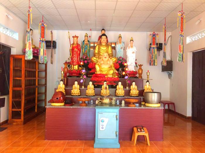 Văn phòng Ban trị sự PG thị xã Đồng Xoài đặt tại chùa Thanh Phước