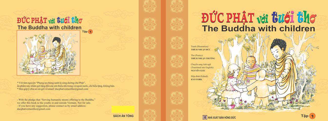 Sắp phát hành sách 'Đức Phật với tuổi thơ - The Buddha with children' miễn phí