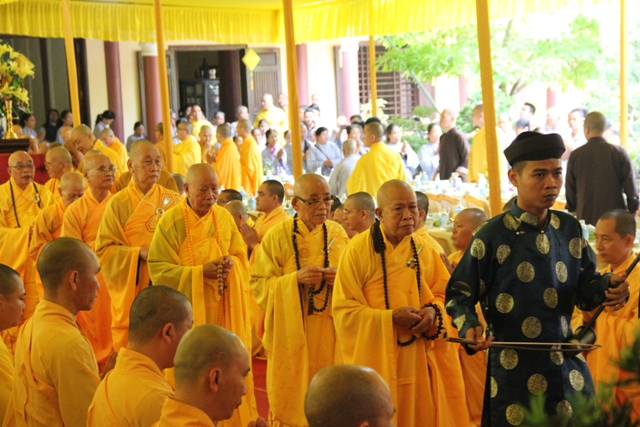 Huế: Lễ húy nhật lần thứ 40 cố HT. Thích Thiện Minh chùa Thuyền Tôn