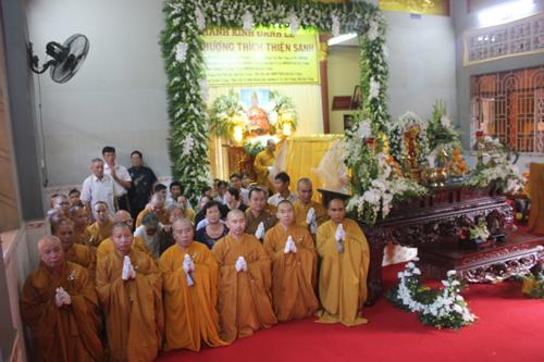 Sóc Trăng: Lễ nhập quan Hòa thượng Thích Thiện Sanh