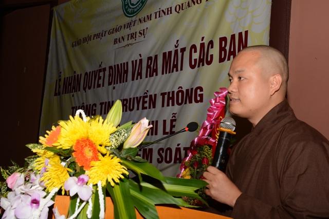Phật giáo Quảng Trị ra mắt các ban, ngành