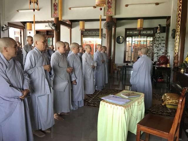 Quảng Trị: Ni Giới triển khai Phiên họp tổ chức giới đàn Như Hải