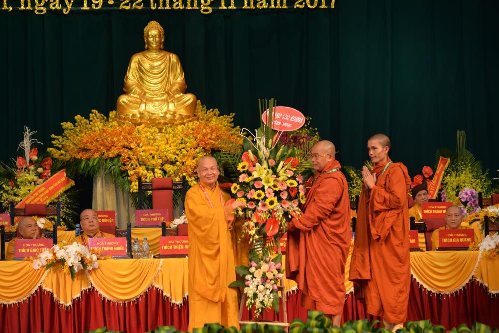 Bế mạc Đại hội VIII của Giáo hội Phật giáo Việt Nam