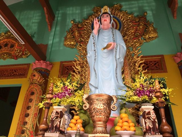Đồng Nai: Lễ sám tạ Tam Bảo, An vị Phật chùa Bửu Long