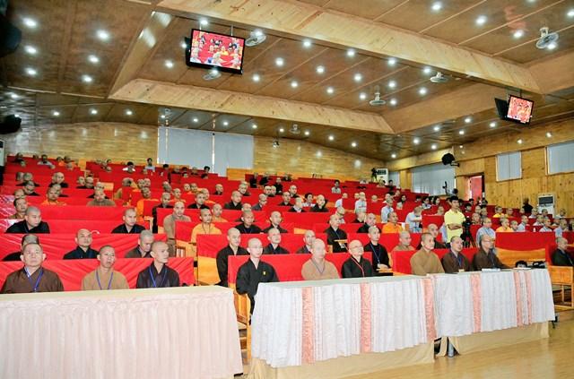 240 Tăng Ni tập huấn báo chí truyền thông PG các tỉnh Miền Tây