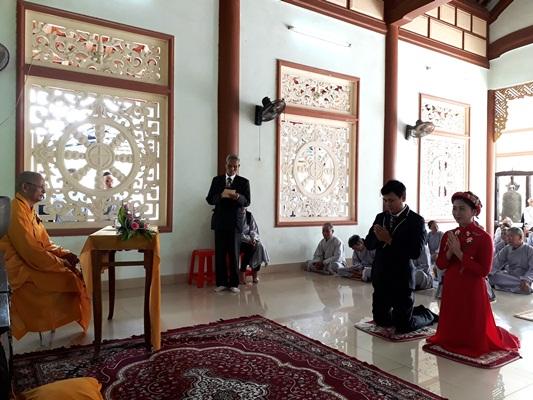 Hải Lăng: Lễ Hằng thuận cho Phật tử tại Niệm Phật Đường Văn Quỹ