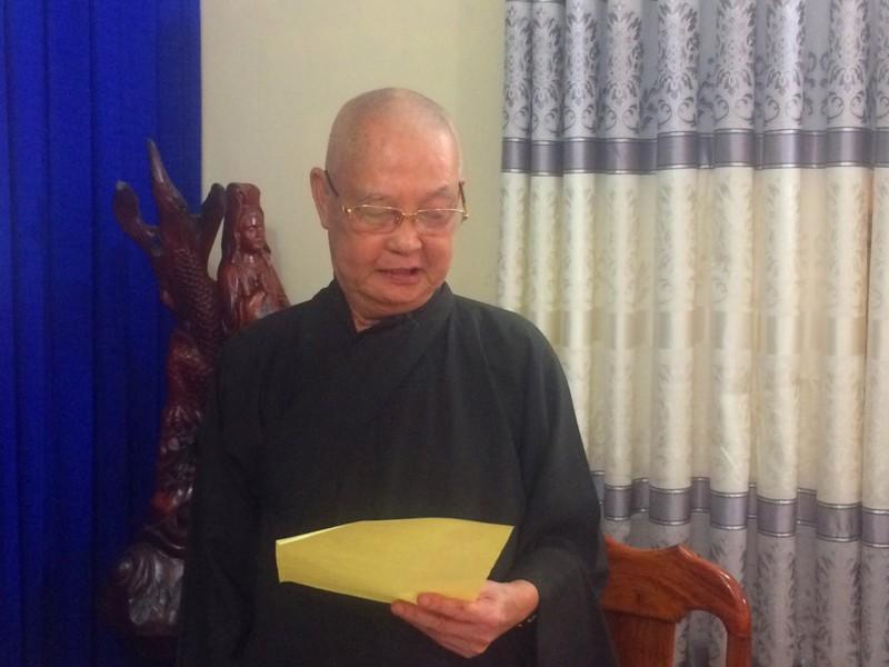 Ban Trị sự Phật giáo huyện Bù Gia Mập họp bàn Phật sự