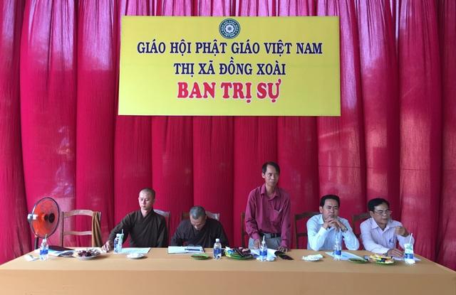 Bình Phước: Ban Trị sự GHPGVN thị xã Đồng Xoài họp bàn Phật sự