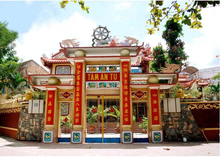 NT.Thích nữ Tâm Hoa viện chủ chùa Tâm Ấn (Bình Định)
