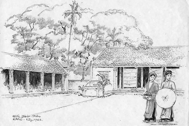 Kiến trúc Đền Hát Môn - Việt Nam cổ xưa