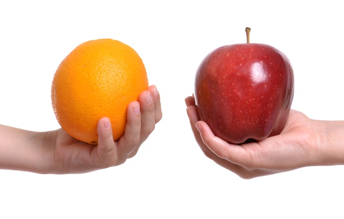 Ghen tị làm bản thân so sánh những điều mà bạn và họ chẳng giống nhau (Nguồn: bitbaloon)