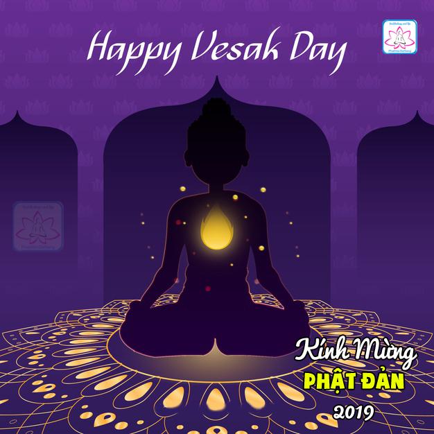 Kính mừng Phật đản - Happy Vesak day 2019