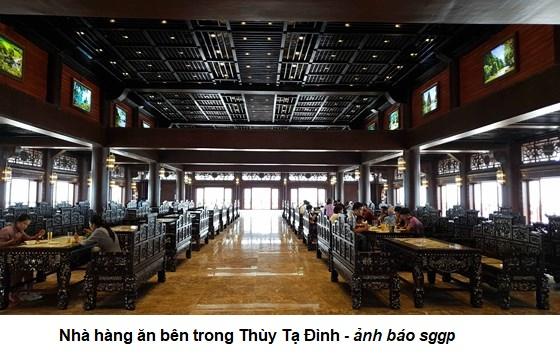Có nên kinh doanh thức ăn mặn trong chùa Tam Chúc?