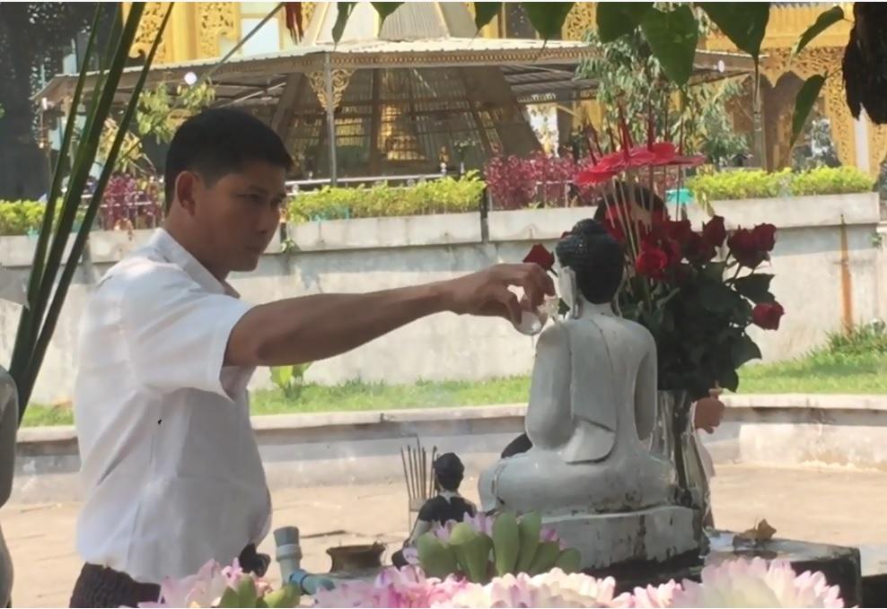 Nét hiền hoà nhân hậu của người dân Myanmar
