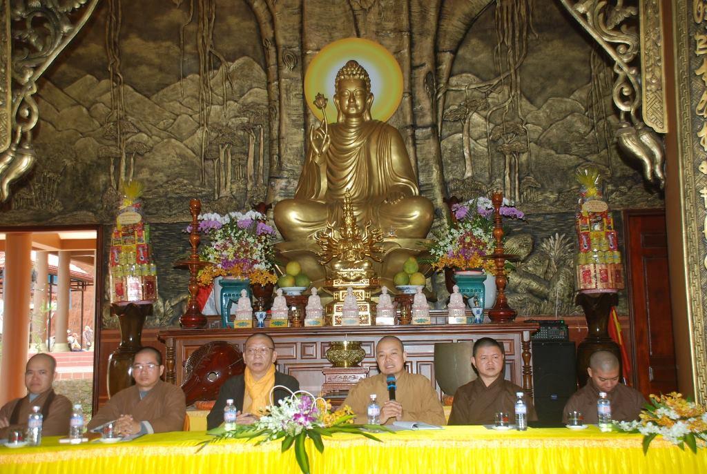 Phật giáo Đắk R'lấp tổng kết Phật sự năm 2020