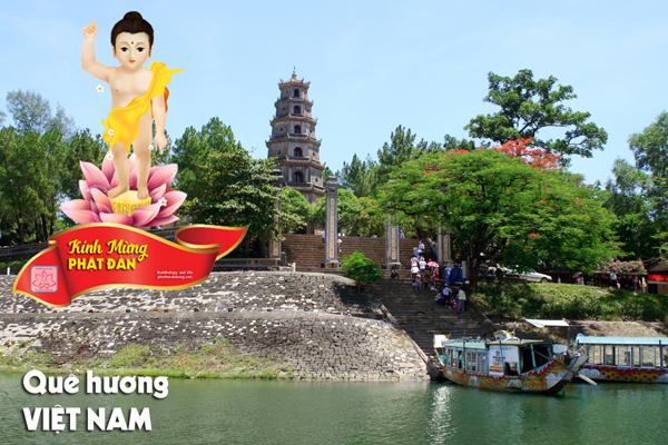 Phật đản trên quê hương Việt Nam