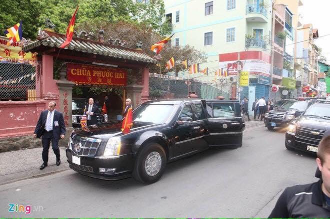 Bạn thấy gì khi Tổng thống Obama đến chùa Phước Hải?