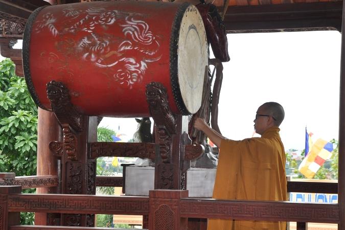 Ý nghĩa chuông trống bát nhã trong chùa