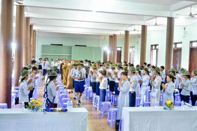 GĐPT Đăk Nông khai mạc trại Huấn luyện Huyền Trang 2