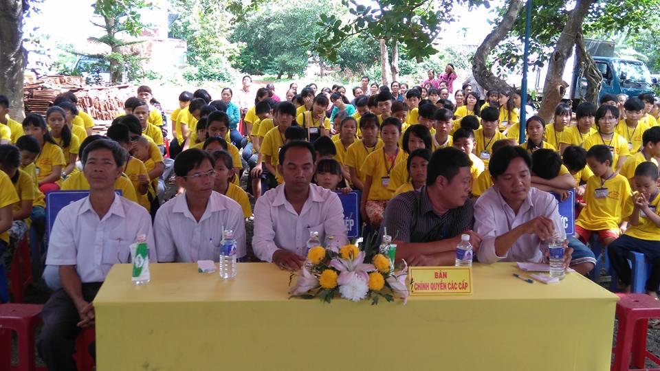 Bình Phước: Chùa Thanh Hương khai mạc khóa tu mùa hè 2016