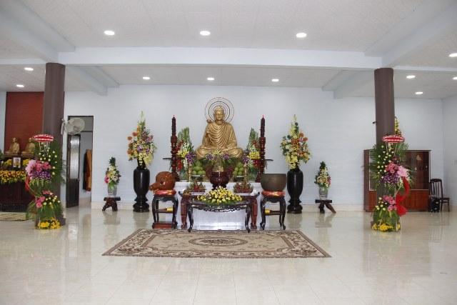 Bình Thuận: Lễ an vị Phật Thiền viện Trúc Lâm Viên Minh