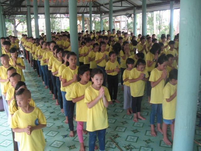 Đồng Nai: Hội trại tuổi trẻ Phật Giáo Định Quán