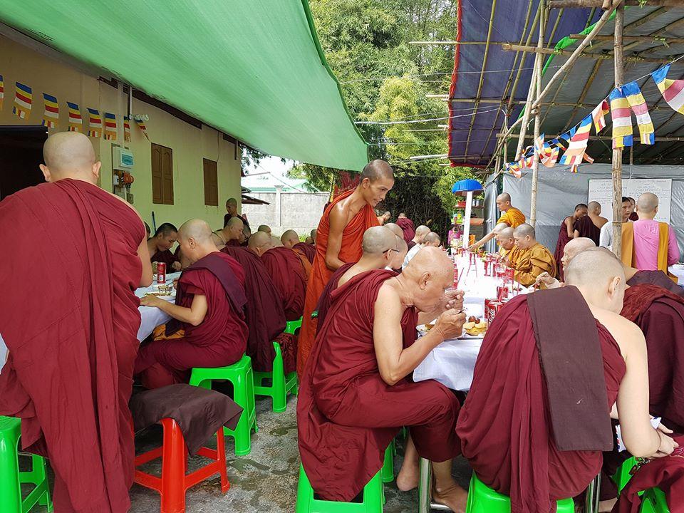 Myanmar: Chùa Đại Phước tổ chức khóa Thiền Tứ Niệm Xứ lần thứ I