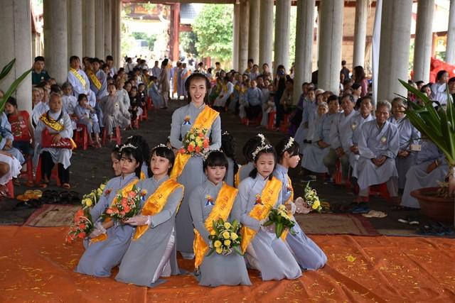 Lễ Vu Lan về sớm tại Tịnh xá Ngọc Xuân