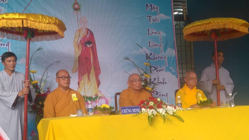 Bình Phước Chùa Thanh Quang mừng lễ Báo Hiếu