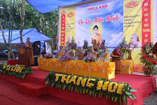 Hà Nội: Chùa Khô long mừng Đại lễ Vu Lan Báo Hiếu