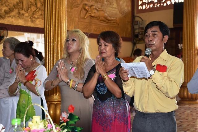 Lễ chúc thọ tại Tịnh xá Lộc Uyển