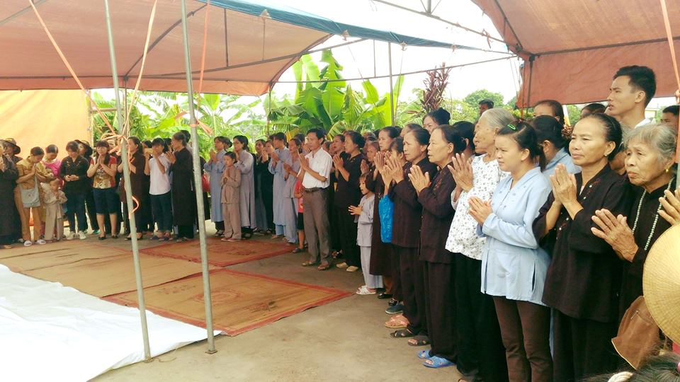 Thái Bình: Chùa Liên Hoa đúc đại hồng chung