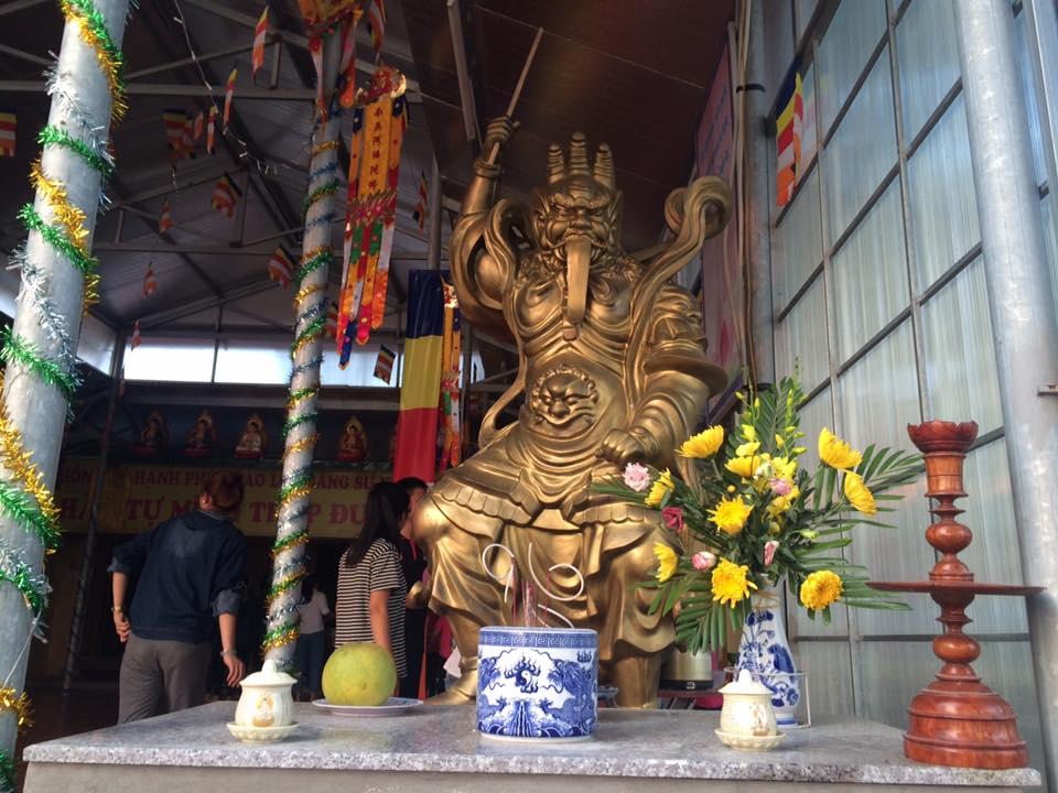 Về Hưng Nguyên thăm chùa Long Hoa