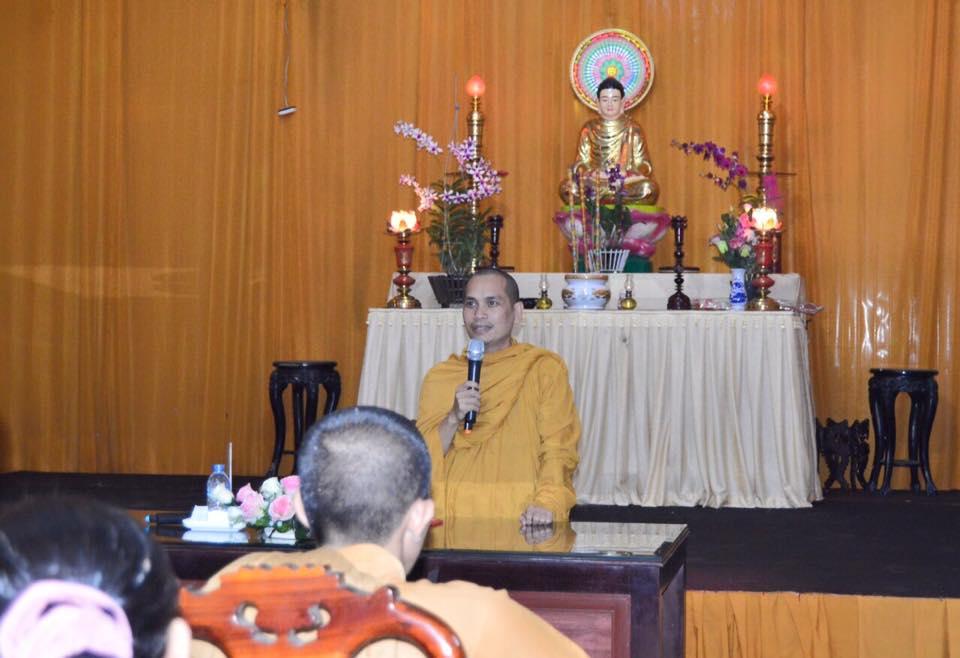 Lớp học 'tổng quan Hệ phái Phật giáo Khất sĩ' tịnh xá Ngọc Thịnh